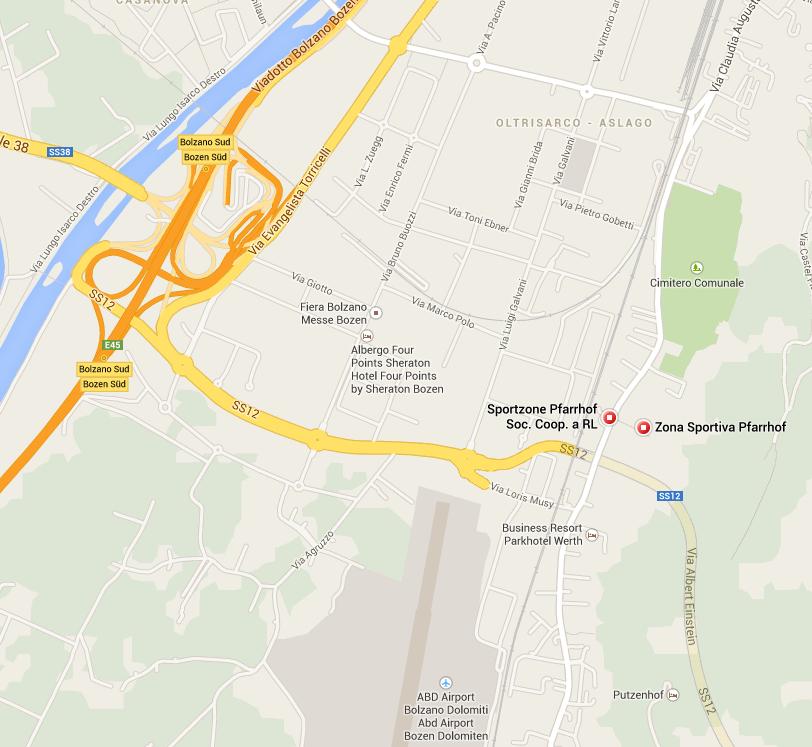 Zona sportiva Pfarrhof