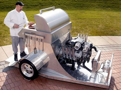 hemi-barbecue